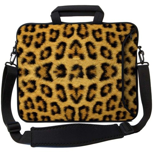 Designer Sleeves Leopard Print 15&#8243; Executive Laptop Sleeve